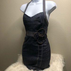 Bebe Denim Mini Dress